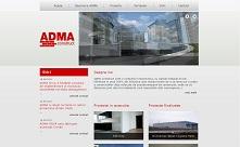 AdmaConstruct- site prezentare firma