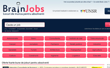 Portal joburi brainjobs.ro