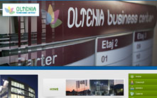 Creare site de prezentare Oltenia Business Center