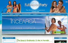 Creare site agentie de turism Full Moon Travel