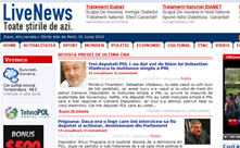 Agregator de stiri- Livenews.ro
