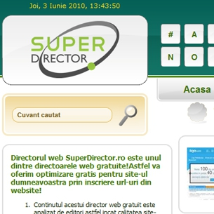 superdirector - creare director web gratui