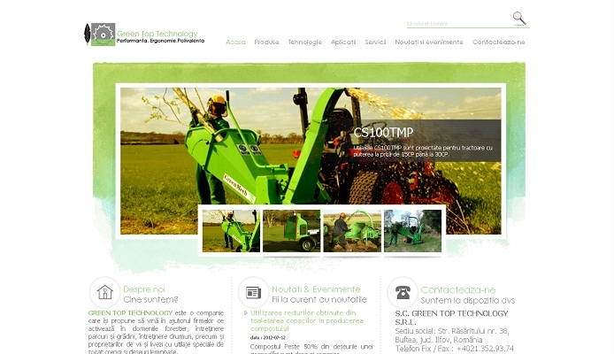Dezvoltare site web, utilaje tocat crengi - Green Top Technology - layout site.jpg