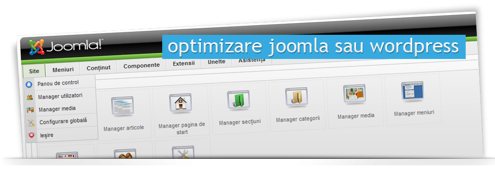 Optimizare Joomla sau Wordpress
