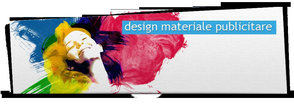 Design materiale publicitare