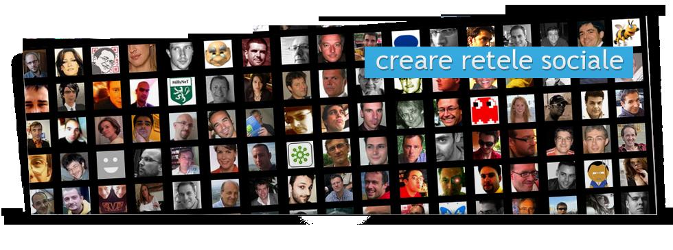 Creare retele sociale
